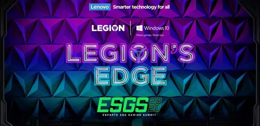 Legion launch at ESGS