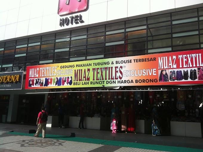 Muaz Textile Akan Dibuka Di Bangi