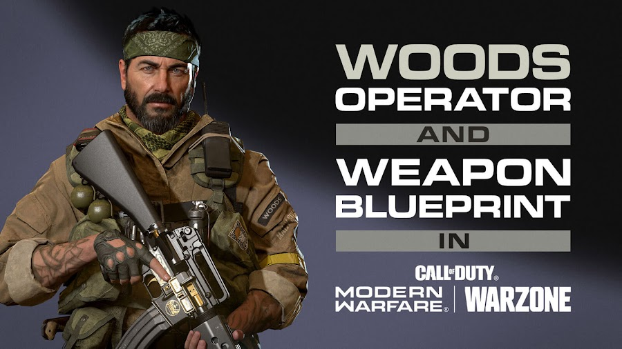 call of duty black ops cold war woods operator pack sog operative playable operator sgt. frank woods assault rifle weapon blueprint quip finishing move first-person shooter game reboot bo5 activision treyarch raven software pc playstation 4 ps4 playstation 5 ps5 xbox one xb1 xbox series x xsx
