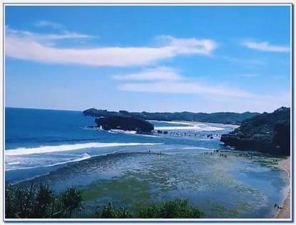 Indrayanti Beach Jogja