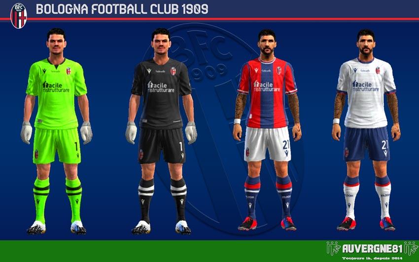 Kits Bologna FC 2021-2022 For PES 2013