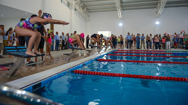 Es Nuevo Laredo sede de la Olimpiada Estatal de Natación