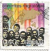 Selo Correntes Migratórias