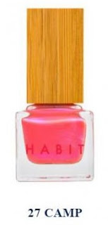 HABIT Natural Nail Polish #vegan