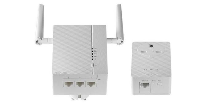 8. Asus PL-AC56 AV2 1200 Wi-Fi