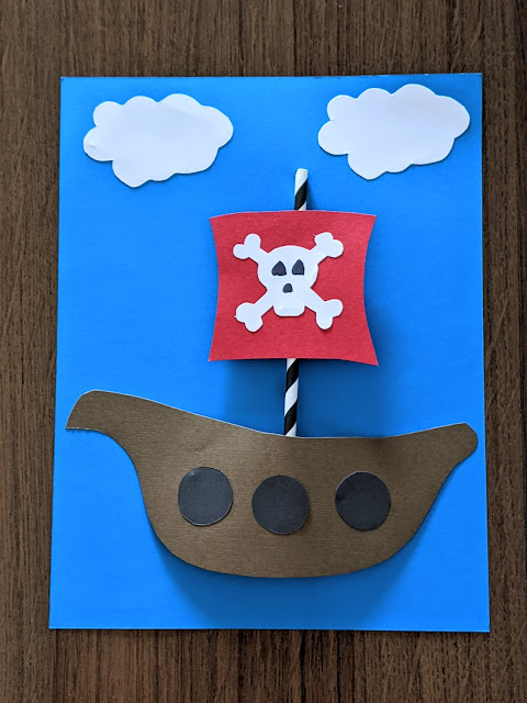 Gasparilla inspired art project for kids