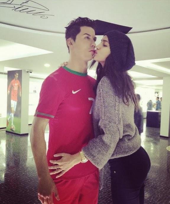 Irina Shayk just can't get enough of Cristiano Ronaldo