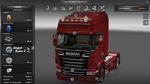Scania R V2.0 + Tuning Mod