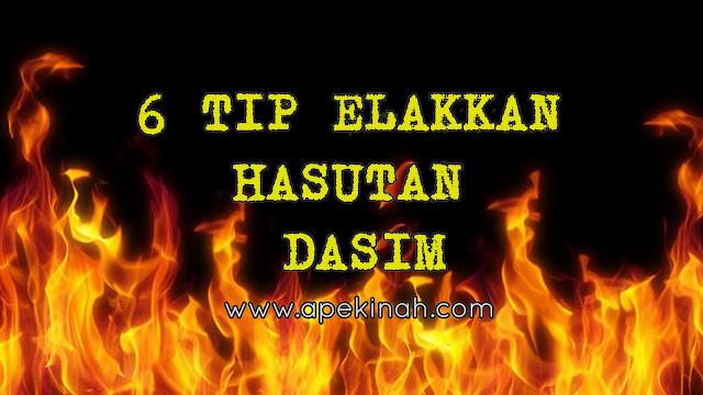 6 TIP ELAKKAN HASUTAN DASIM
