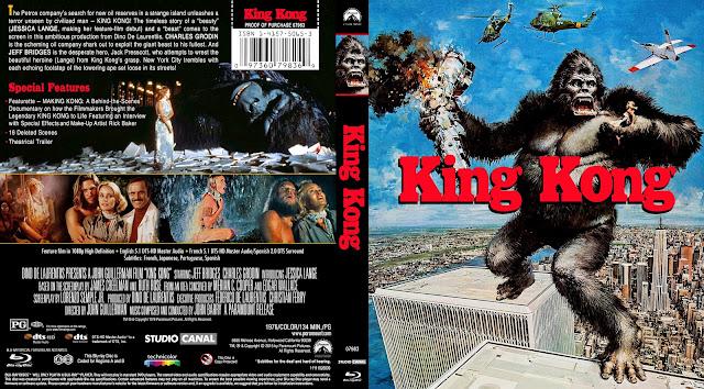 King Kong Bluray Cover