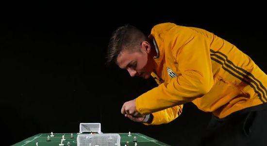 Dybala impegnato nel J Challenge VIDEO