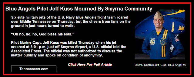 Blue Angels pilot Jeff Kuss mourned by Smyrna community