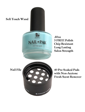 Nailpak : nailpak, Makeup:, Duality, Cosmetics