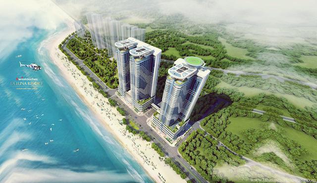 vị trí dự án La luna Resort Nha Trang