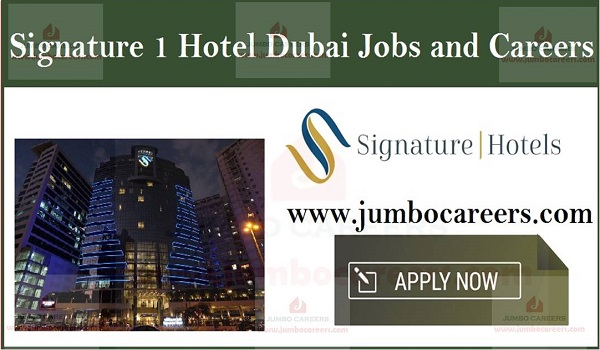 Current Hotel Jobs in Dubai, UAE job careers,