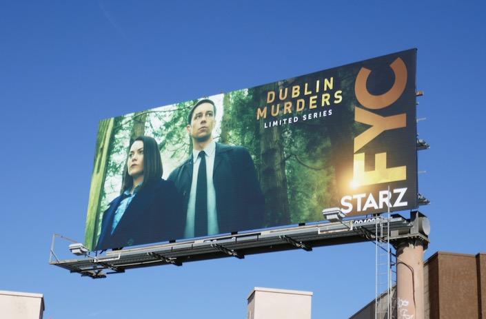 Dublin Murders 2019 Starz FYC billboard