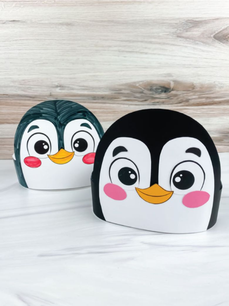 penguin headband craft