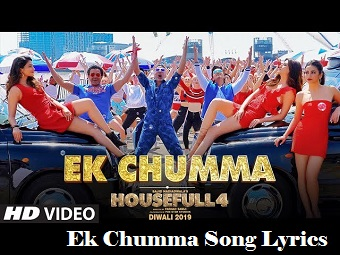 Ek Chumma Song Lyrics HouseFull 4