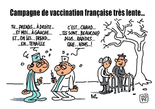 Vaccination : la propagande niaise marche mal