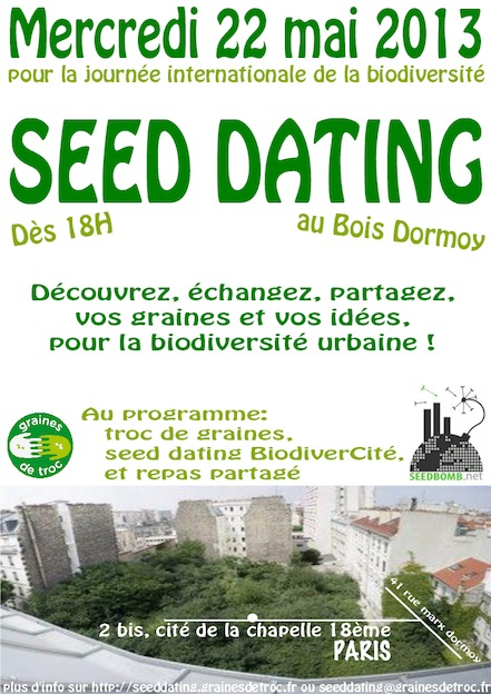 seeddating graines