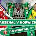 new gersy/ Arsenal vs Norwich City: EFL Cup