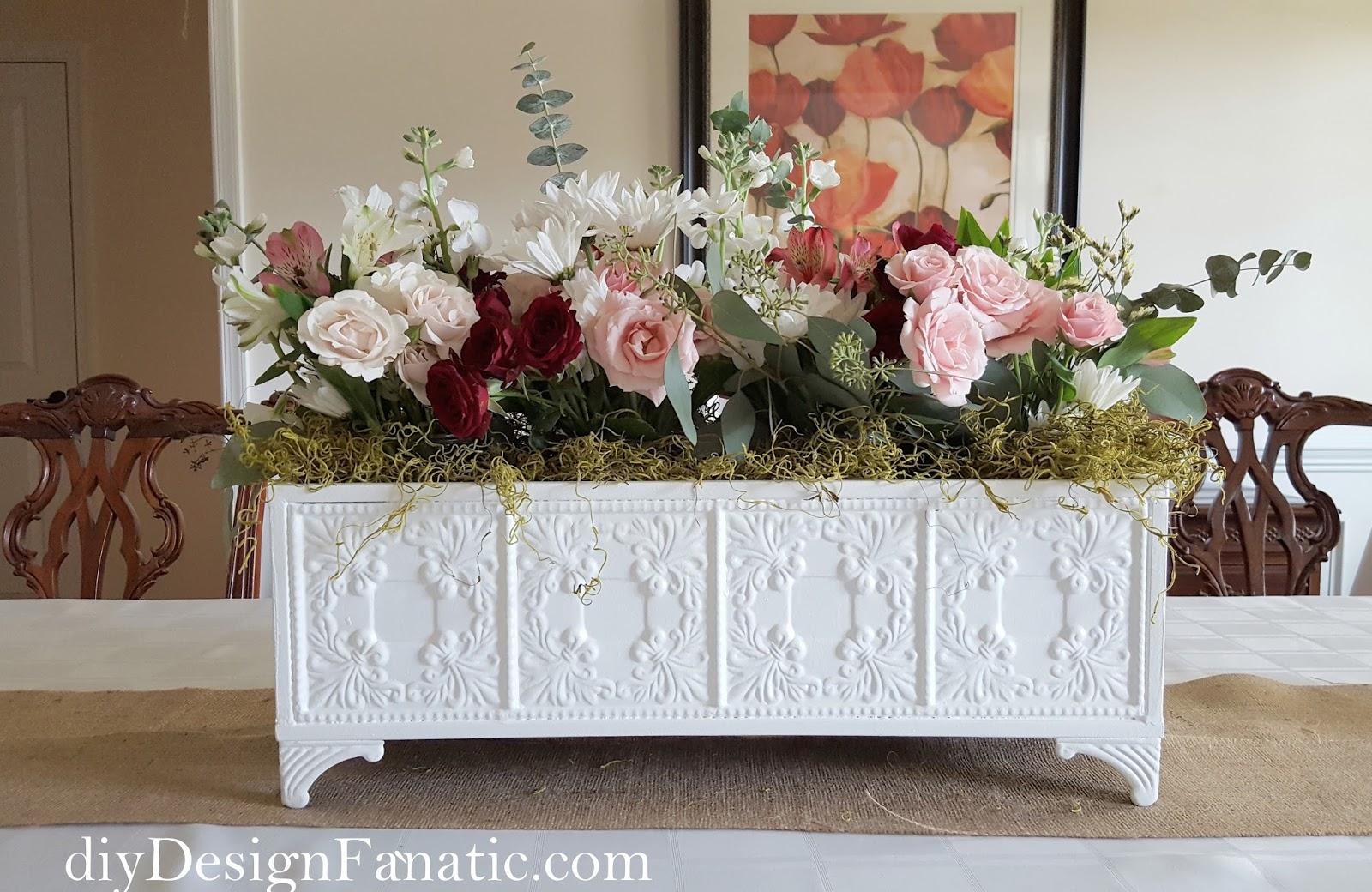 Fabulous Floral Centerpiece Diy Design Fanatic Bloglovin