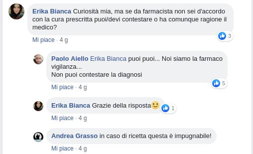 pagina Facebook Andrea Grasso