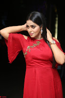 Poorna in Maroon Dress at Rakshasi movie Press meet Cute Pics ~  Exclusive 74.JPG