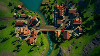 Where to place warning signs in fortnite, read here