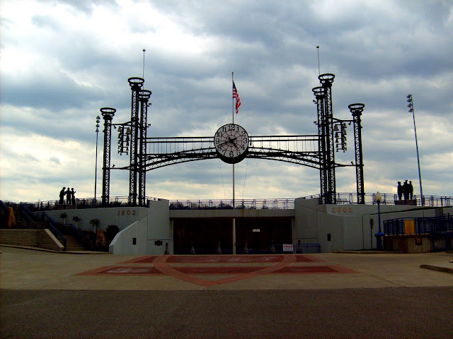 Lawrenceburg Clock and Chimes on Ohio River Waterfront