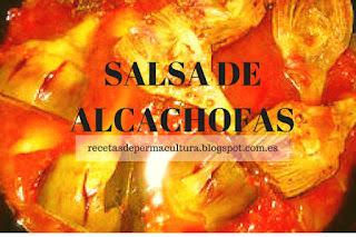 Receta de Salsa de Alcachofas, recetas de cocina sana muy fácil de hacer.