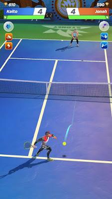 لعبة تنس اندرويد