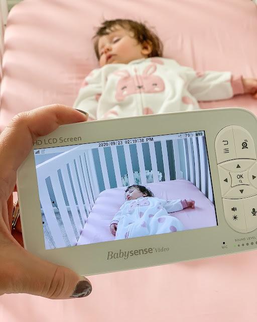 Babysense video monitor review #babymonitor #babyvideomonitor
