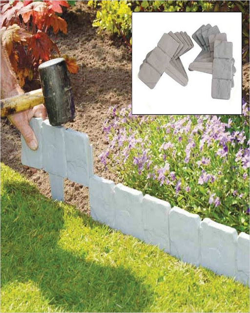 cheap garden border edging ideas