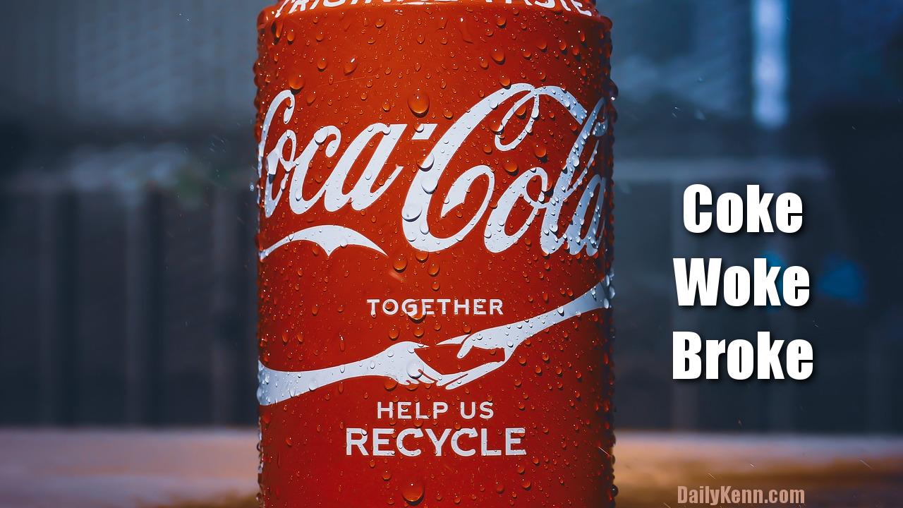 Coca Cola takes spanking after woke diversity training