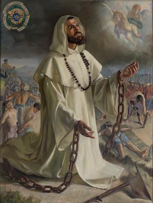 En la imagen San Melchor, encadenado.