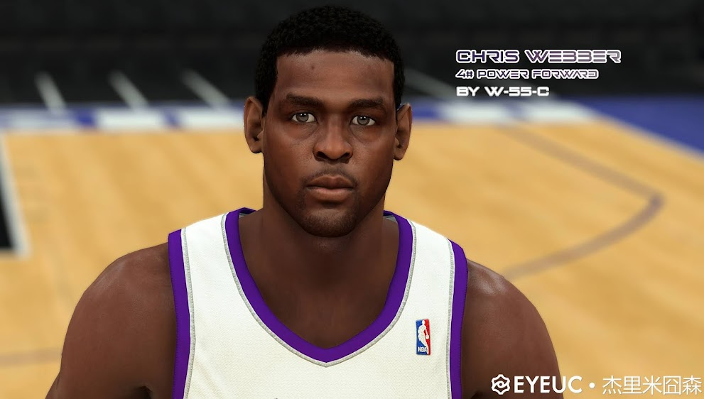 Chris Webber Cyberface and Body Model By White55Chocolate [FOR 2K21]