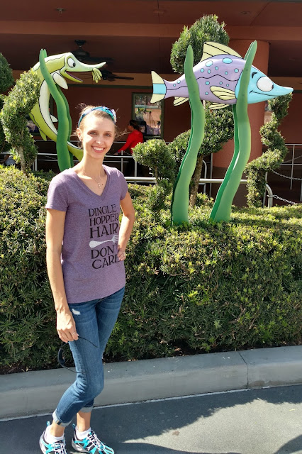 Make this DIY mermaid shirt for your next trip to Disney or for the Disney lover in your life!