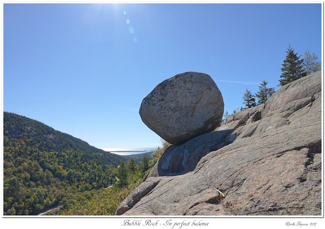 Bubble Rock: In perfect balance