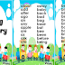 Basic Spelling Vocabulary List (Ready to Print)