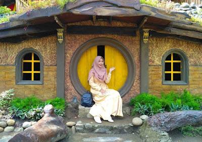Rumah Hobbit Kopi Dokar Tulungagung