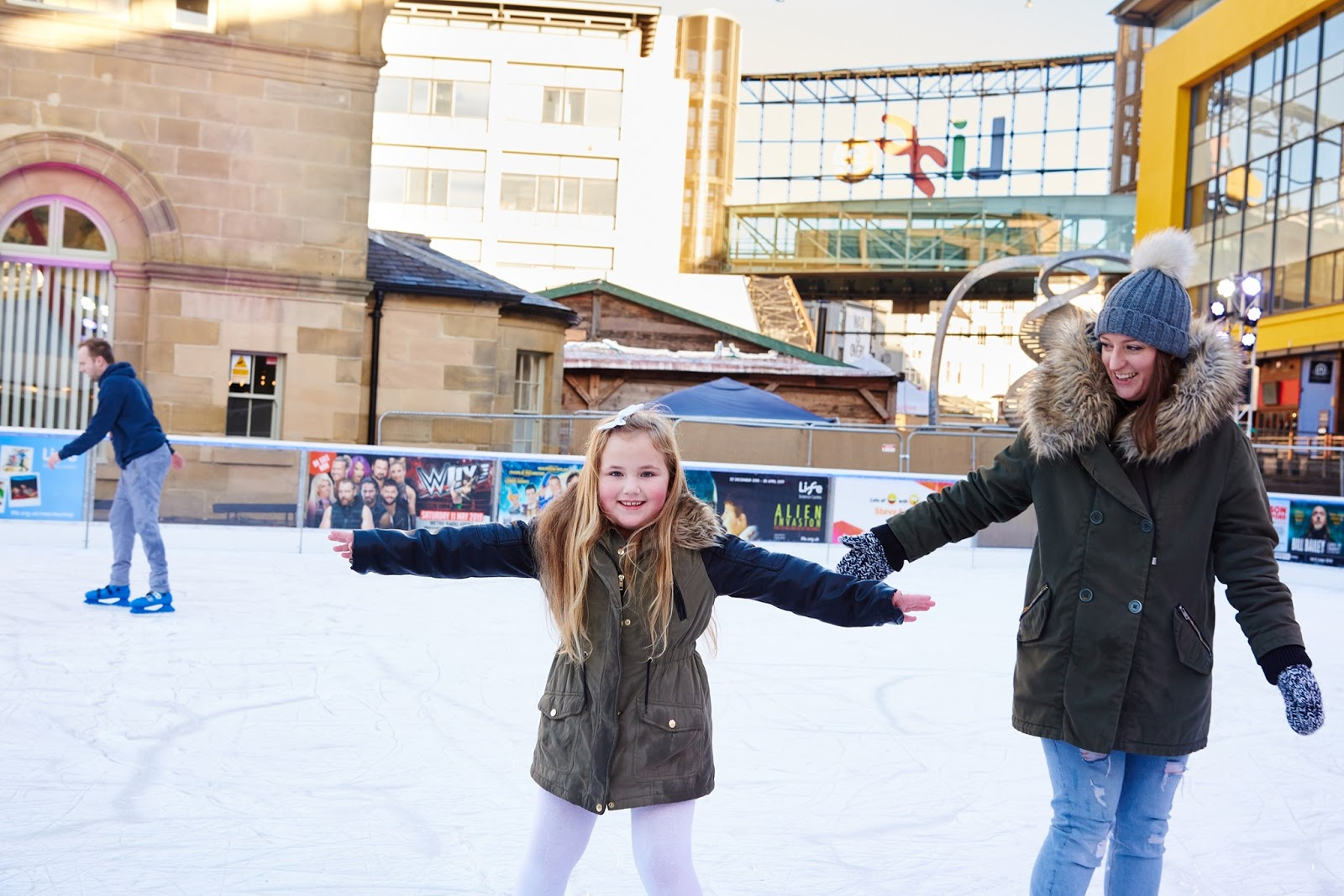 20 Christmas Eve Events for Kids in North East England  - Ice Skating Newcastle