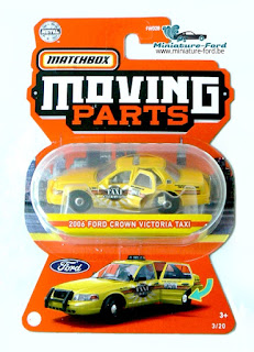 Matchbox, 2006 Ford Crown Victoria Taxi