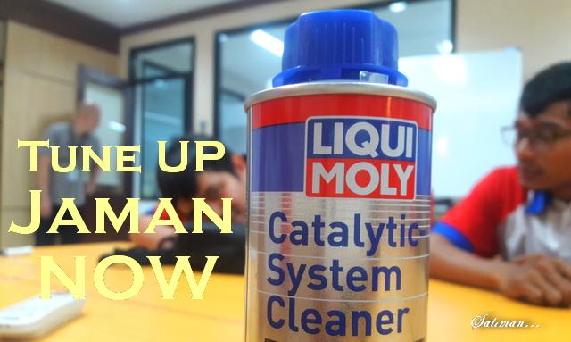 Cara Menggunakan Liqui Moly Catalytic System Cleaner