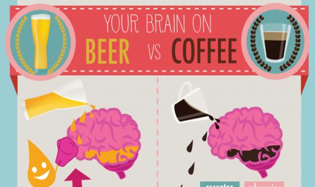 Your Brain On Beer vs Coffee