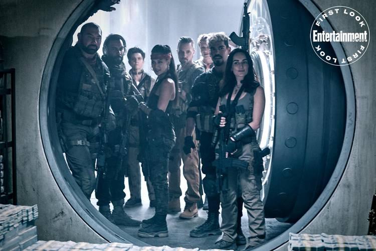 Novas fotos do próximo filme de zumbis do diretor Zack Snyder