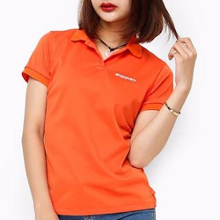 áo thun nữ màu cam
