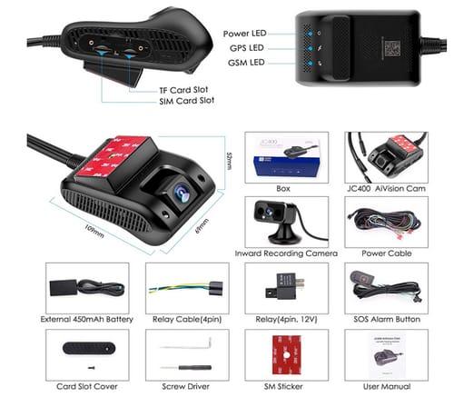 Autopmall GPS Tracker Dash Cam 4G WiFi DVR