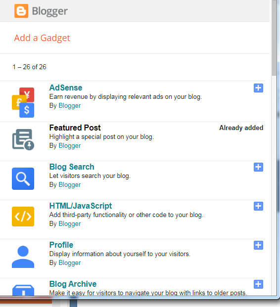 blogger tool
