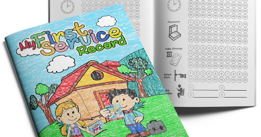 The Kids Service Record Booklet by Ministry Ideaz